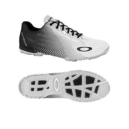 Oakley - Zapatillas Deportivas para Golf Sin Tacos Cipher 3 para Hombre - Blanco/Negro, 7 UK Regular / 40.5 EU, Mezcla: Amazon.es: Deportes y aire libre