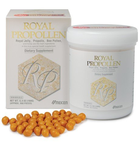 Umeken Royal Propollen- Contains Royal Jelly (10H2DA), Green Propolis, Bee Pollen derived from honey. Helps Boost Energy and Immune System. About a 2 month supply. Made in Japan. by Umeken (Image #3)