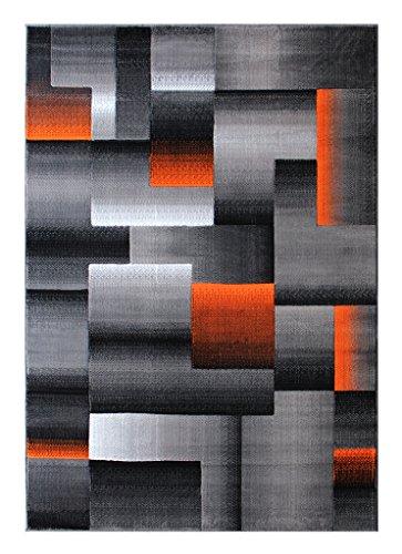 Masada Rugs Modern Contemporary Orange