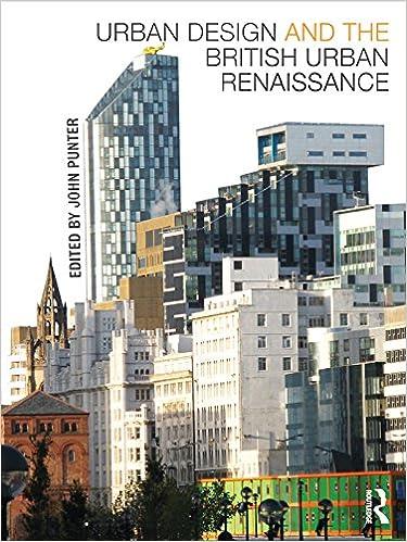 Urban Design And The British Urban Renaissance Kindle Edition By Punter John Politics Social Sciences Kindle Ebooks Amazon Com