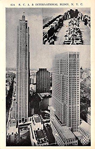 RCA & International Buildings New York City, New York postcard