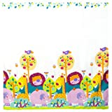 Kushies Baby Jungle Themed Shower Curtain, 4-Piece
