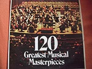 Various 120 Greatest Musical Masterpieces Amazon Com Music