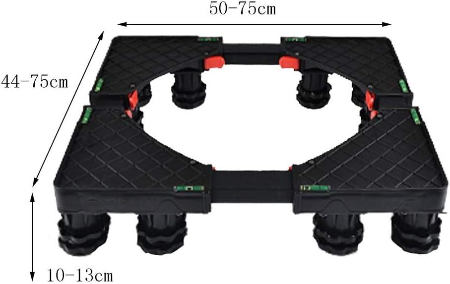 50x44x10cm Heavy Object Mover Wei Zhe WZ Washing Machine Shockproof Bracket for Furniture Refrigerator Washing Machine Heavier Items Color : A