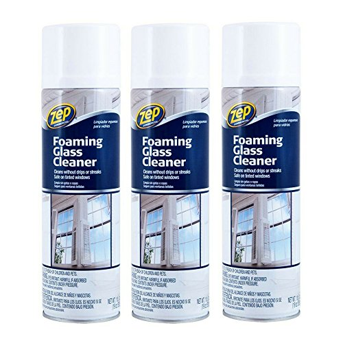(Zep Commercial ZUFGC19 19 Oz Zep Foaming Glass Cleaner (3 pack))