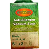 Miele Canister Vacuum Anti-Allergen Filtration Type FJM Bags 5 Pk Part # C205