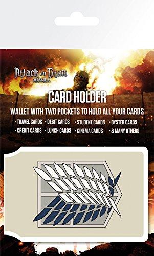 Attack On Titan Karte.Gb Eye Attack On Titan Badge Karte Mehrfarbig Amazon De Küche