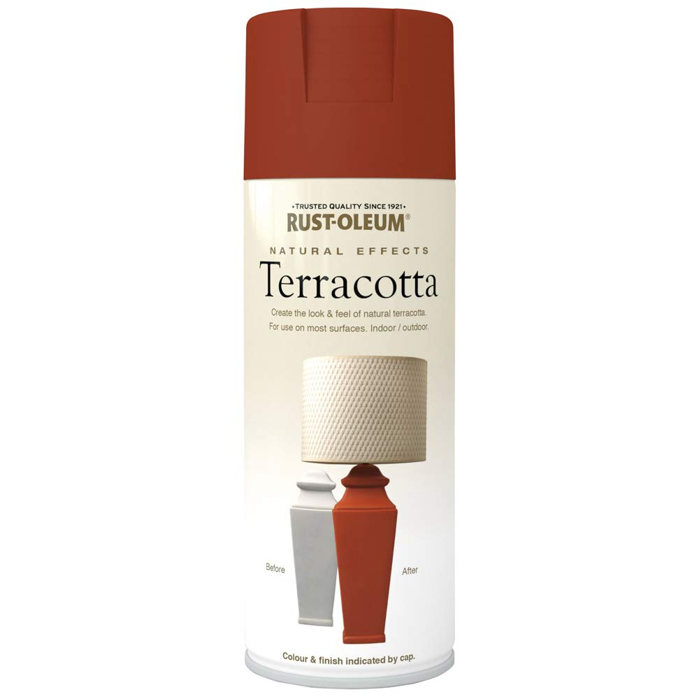 Rust-Oleum AE0320001E8 Spray Paint, Terracotta