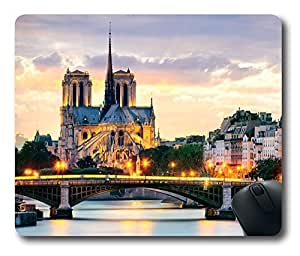 Beatiful City Architectural Rectangle Mouse Pad by Cases & Mousepads
