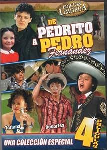 De Pedrito a Pedro Fernandez [4 Peliculas] El Oreja Rajada & Vacaciones De Terror 1 & Vacaciones De Terror 2 & Cronica De Un Crimen