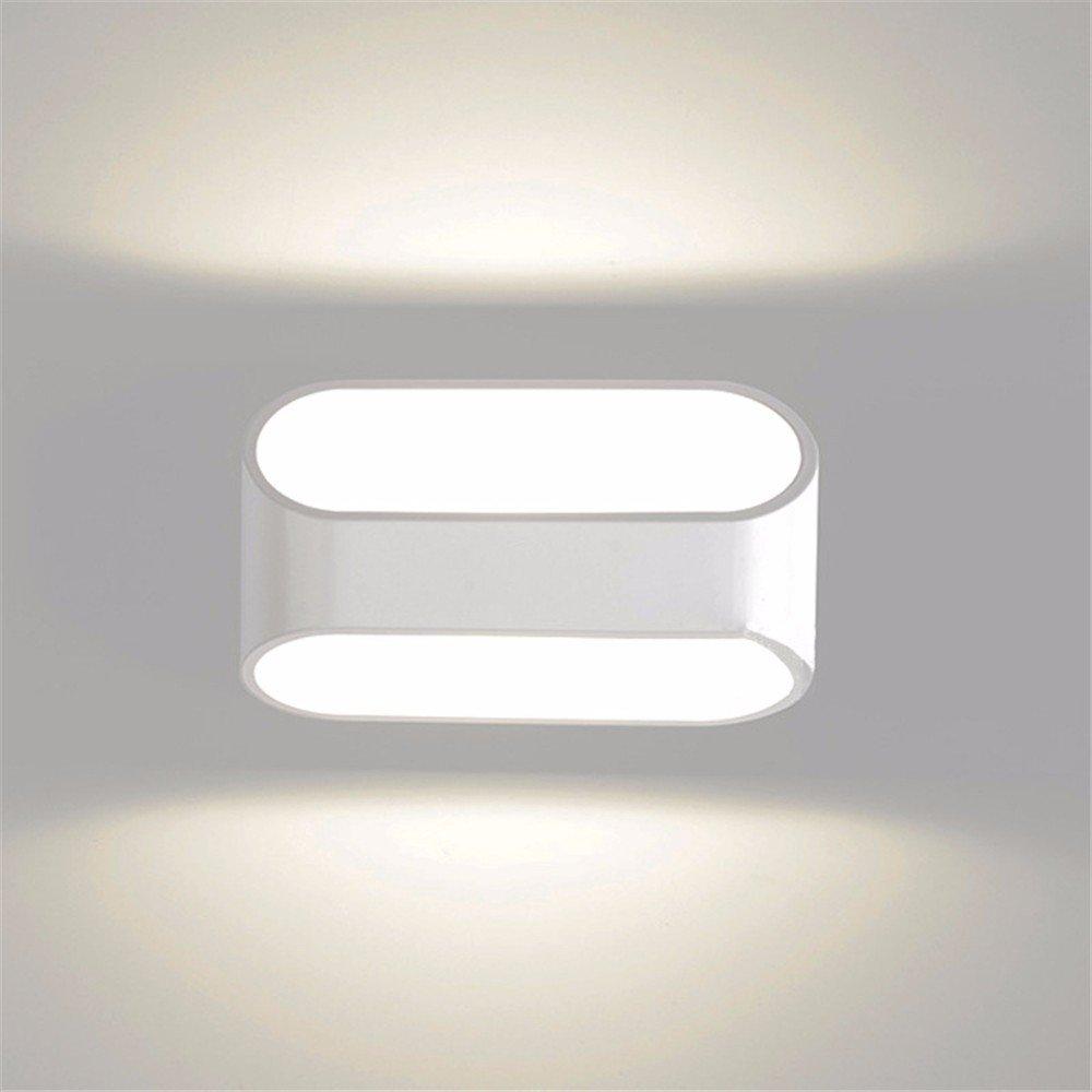Anbiratlesn Modern E27 Vintage Rustikal Wandlampe für Schlafzimmer Wohnzimmer Korridor Badezimmer Küche Led Aluminium Treppe