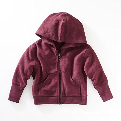 Tea Collection Dulce Dolman Hoodie for Girls (7, Plum Frost)