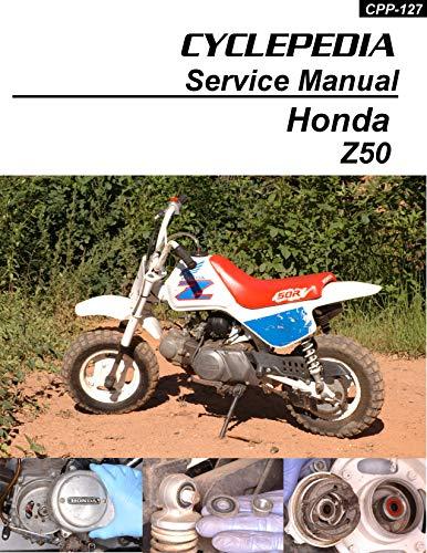 1979-1999 Honda Z50R Service Manual