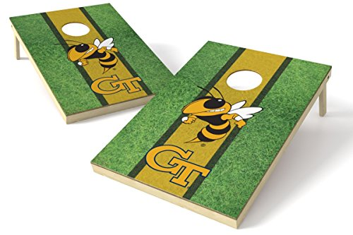 NCAA Georgia Tech Yellow Jackets 2x3 Wood Tailgate Toss