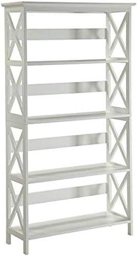 Convenience Concepts Oxford 5 Tier Bookcase - a good cheap modern bookcase