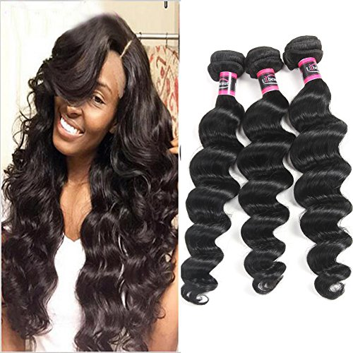 Urbeauty 8A Grade Unprocessed Brazilian Loose Wave 3 Bund...
