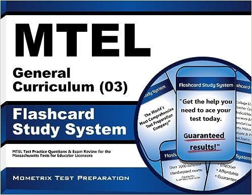 MTEL General Curriculum (03) Flashcard Study System: MTEL