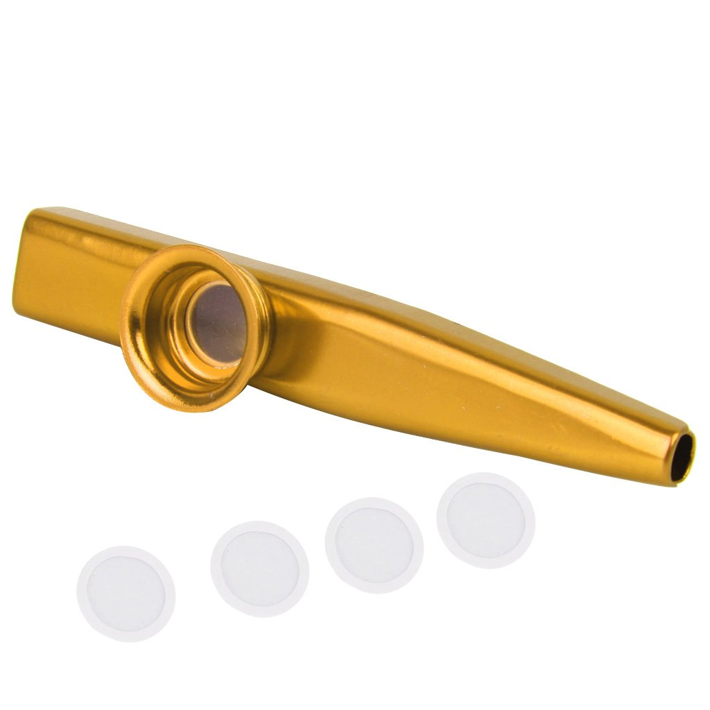 Generic Aluminium Alloy Kazoo with Diaphragm Golden-15013493MG product image