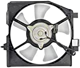 APDTY 731869 AC Condenser Fan Blade Motor Shroud Assembly Fits 1995-2000 Mazda Protege & 2002-2003 Mazda Protege5 (Replaces B595-15-035C, B595-15-140, B595-15-150A, B595-15-2)