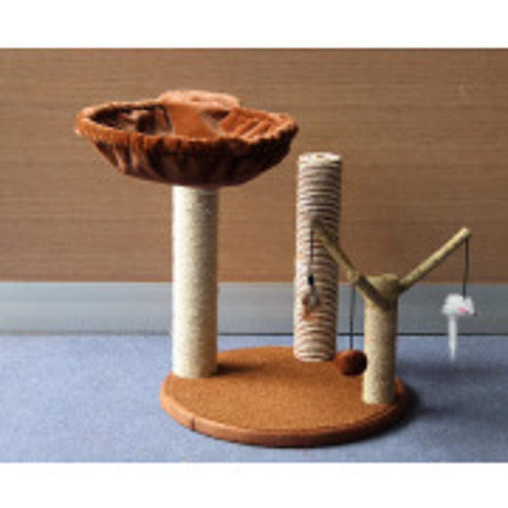 Aoligei Cat Play Towers & Trees Station Small cat tree Whole sisal pillar Pet supplies 40  40  48cm