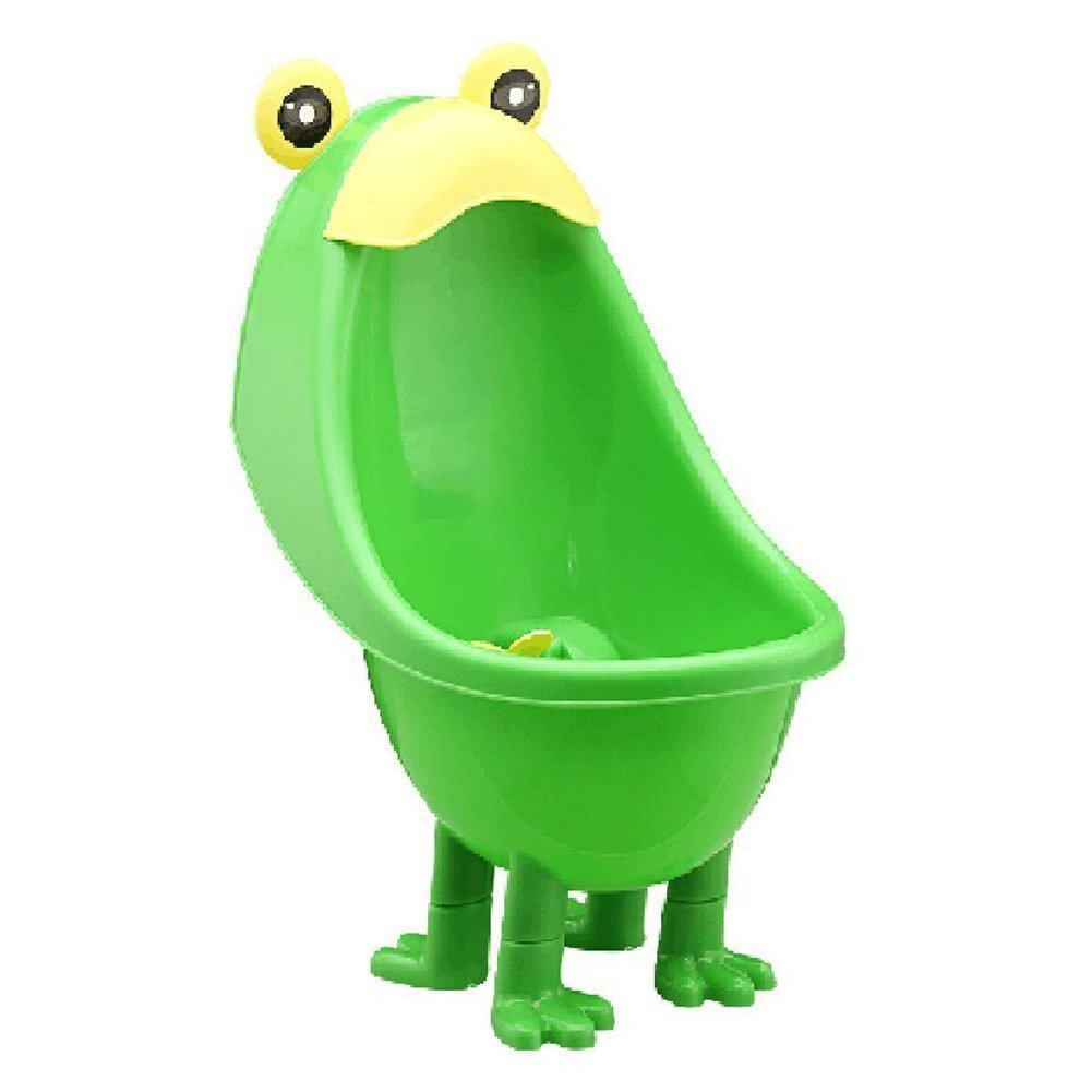 Baby Boys Urinal - TOOGOO(R) Baby Boys Urinal Potty Traing Stand Vertical Urinal Groove with Funny Aiming Target (Green) TRTA11A