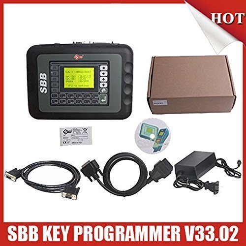 New SBB Key Programmer V33.02 Professional Auto Key Programmer with High Quality (Manual Programmers)