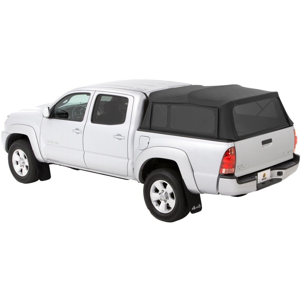 Amazon com bestop 76308 35 black diamond supertop for truck bed cover for 2005 2017 toyota tacoma double cab 5 0 bed automotive