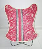 Butterfly Chair Cover Floral Print Kantha Butterfly Chair Cover With Butterfly Chair Frame
