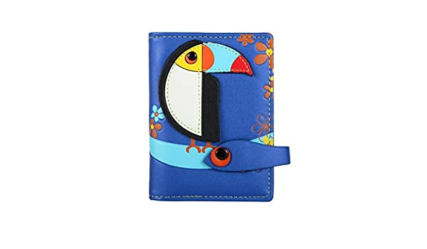SCASSI MENKAI 652X - Tarjetero Negro azul: Amazon.es: Equipaje