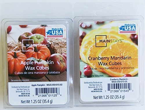 Mainstays Fruity Fresh Scented Wax Cubes Bundle - Cranberry