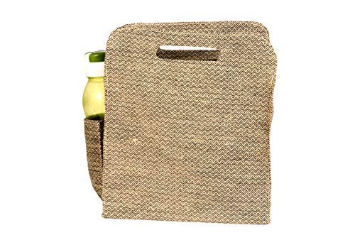 Ecobirdz Beige Lunch Bag
