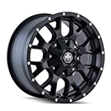 Mayhem Warrior 8015 Wheel with Matte Black Finish (18x9''/10x150mm)