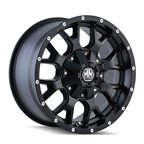 Mayhem Warrior 8015 Wheel with Matte Black Finish (20x9