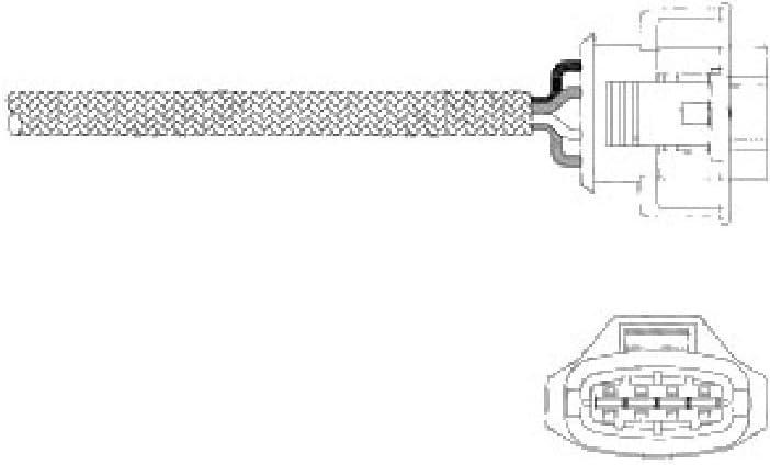 Delphi ES20339-12B1 Lambdasonde