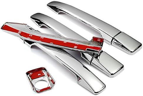 Mirror Chrome Side Door Handle Covers Trims For Mercedes-Benz 85-95 W124 E-Class 83-93 W201 C-Class E420 260E 190E 190D 1983 1984 1985 1986 1987 1988 1989 1990 1992 1993 1994 1995 Brand