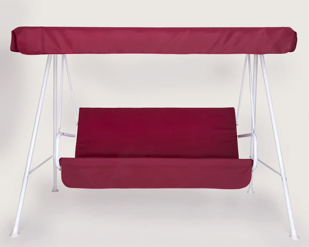 Rosso GREENBEE by Stiliac 3 posti Set Cuscino Dondolo 3posti