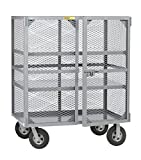 Little Giant SC2-2460-10SR Job Site Security Box, 24'' x 60'', Gray