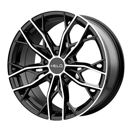 Helo HE907 18x8 5x114.3 +40mm Black/Machined Wheel Rim