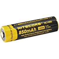 NITECORE NL1485 850mAh 14500 Li-ion Rechargeable Battery for High Drain Devices