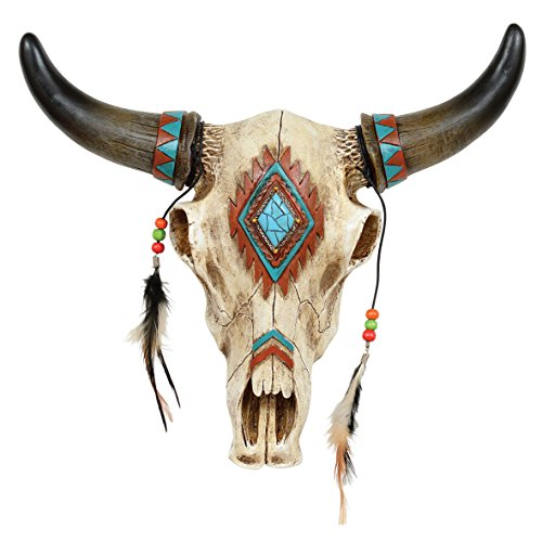 Southwestern Wall Hanging - Black Forest Decor Southwestern Skull Wall Hanging