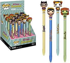 Funko DC Bombshells POP! Pens with Toppers Display Classic (16) Comics