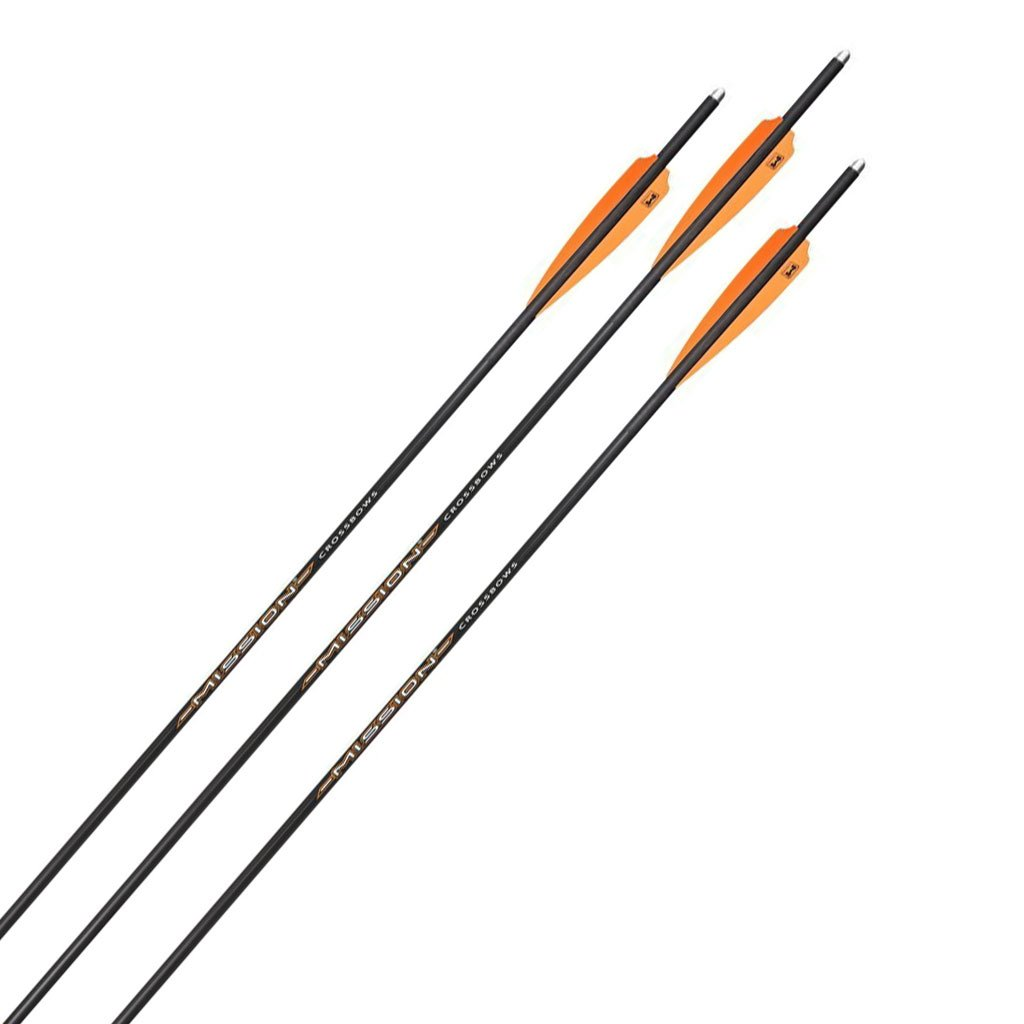 Mission Crossbow Bolt 20 Inch - 3 Pack