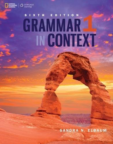 Grammar in Context 1 (Grammar in Context, Sixth Edition) (Grammar in Context, New Edition)
