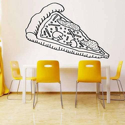 WERWN Keuken Pizza Sticker Wallpaper Vinyl Muursticker Muurdecoratie Behang