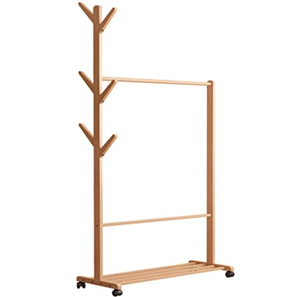 Multiusos de madera perchero y zapatero, ropa accesorio de ...