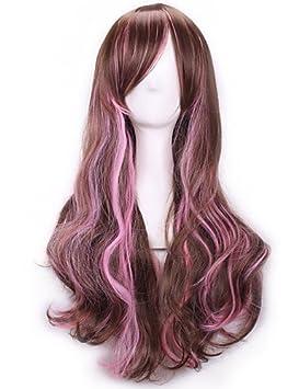 harajuku golpea la peluca femme animado ombre pelucas cosplay baratas productos sexuales naturales pelucas pelucas de