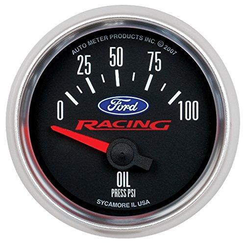 Auto Meter 880076 Ford Racing Series Electric Oil Pressure Gauge