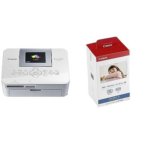 Canon Selphy Cp1000 - Impresora fotográfica + Canon KP-108IN ...