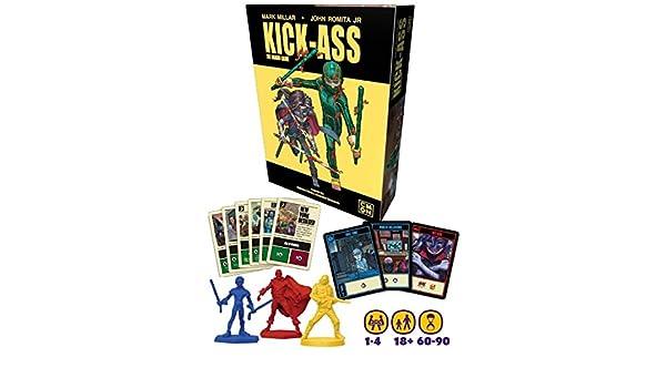 Juego de Mesa Kick-Ass: Amazon.es: Juguetes y juegos
