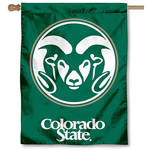 Colorado State University Rams House Flag by College Flags and Banners Co.